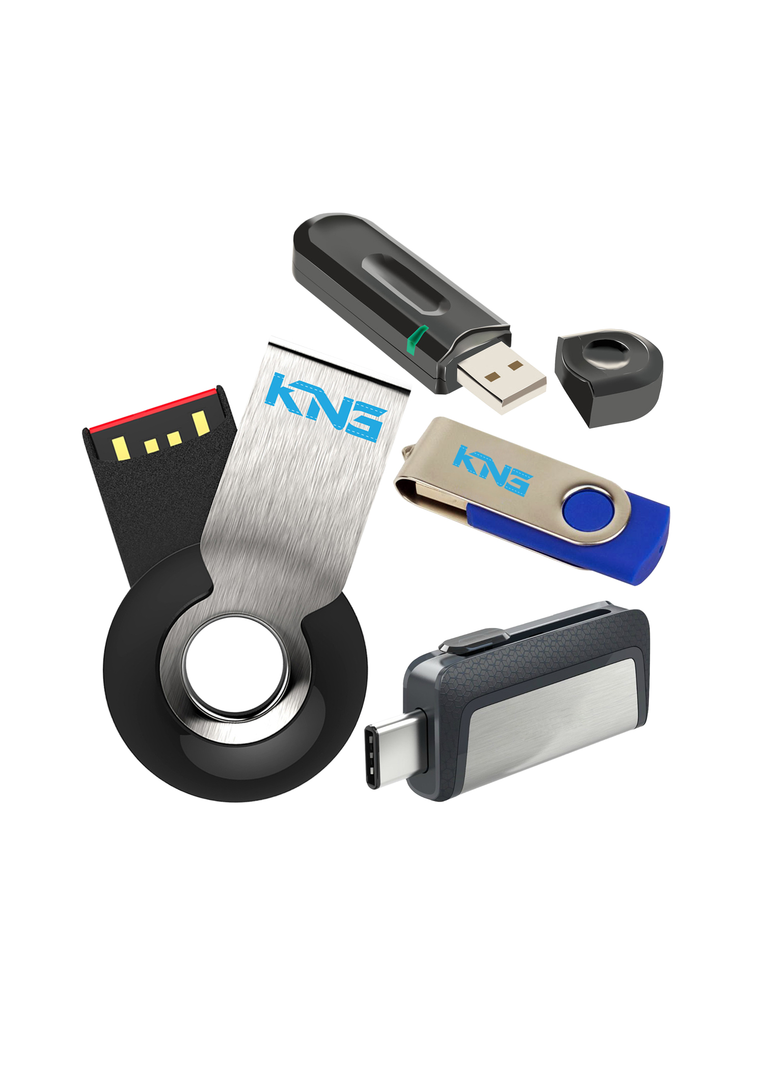 Catalogue flash drive